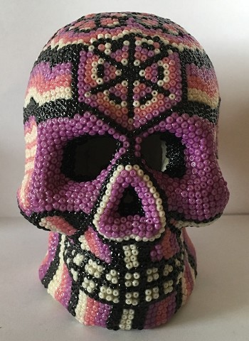 Medium Purple Skull